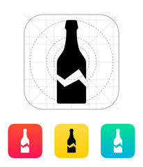 Broken bottle icon.
