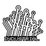 Industrial sticker