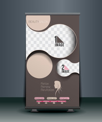 Beauty Care Roll Up Banner Design