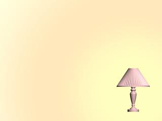 Background - desk lamp