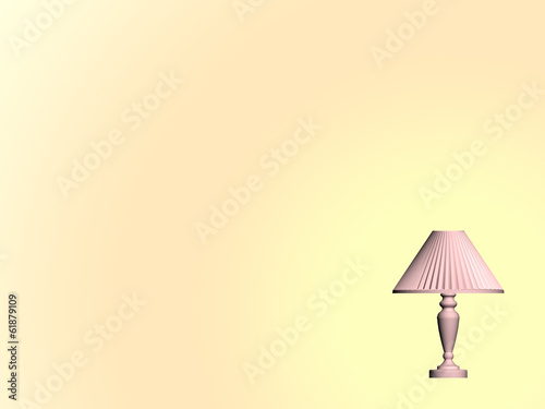 Background - desk lamp