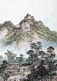 traditional Chinese painting , landscape