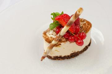 dessert tiramisu closeup