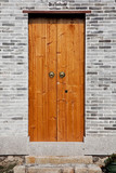 Classic chinese wooden door