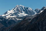 snow covered alpine peaks in Southern Alp, New Zealand