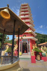 Ten Thousand Buddhas Monastery Pagoda