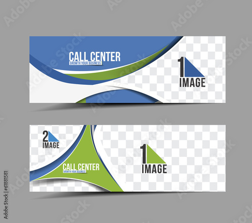 Call Center Header & Banner Design