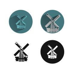 Mill. Vector format