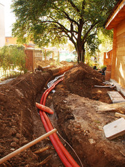 Utilities Trench