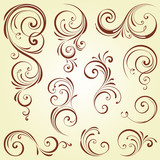 Ornate Swirl Set