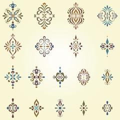 Ornate Swirl Motifs