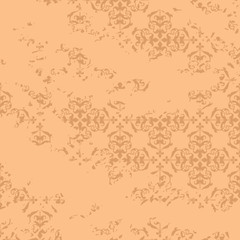 aged beige vector background - light pattern