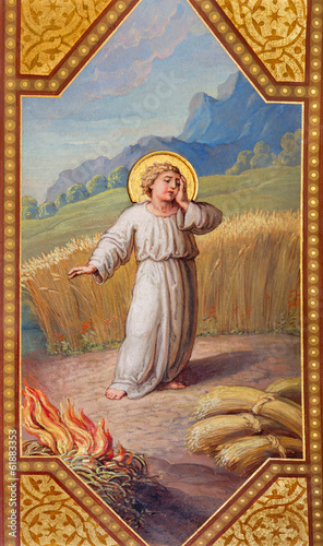 Vienna - little Jesus in parable of The Weeds in the Grain