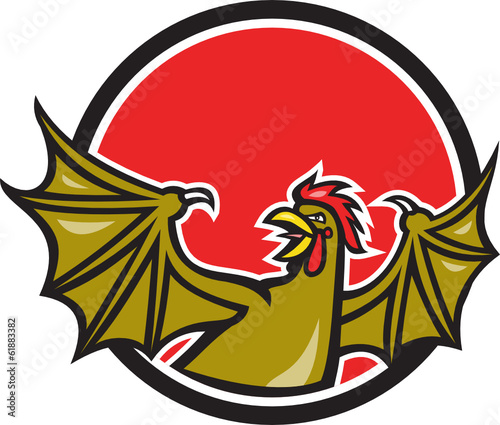 Basilisk Bat Wing Cartoon