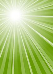 Hintergrund Streifen mit Mittelpunkt grün