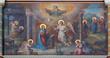 Vienna - Annunciation fresco in Carmelites church