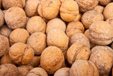 many walnuts background