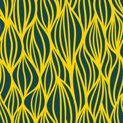 Wave Pattern. Seamless texture. Vector illustration/ EPS 8