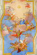 Vienna - Virgin Mary - Ceiling from baroque st. Annes church