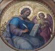 Leinwandbild Motiv Vienna - Matthew the Evangelist in Carmelites church