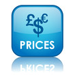 """PRICES"" Button (products services catalogue euro dollar pound)"