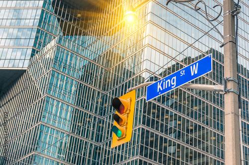 King Street Sign - Toronto downtown - 61887922