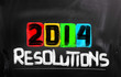 2014 Resolutions Concept