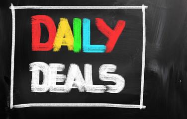 Daily Deals Concept