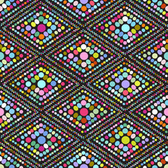 geometric seamless pattern illustration background