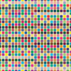 Multicolor abstract bright background with squares.