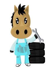 horse boy Repair