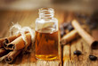Essence Bottle and Cinnamon