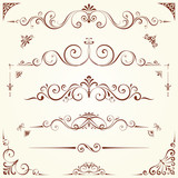 Ornate Motifs Set poster