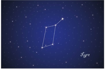 Constellation Lyre