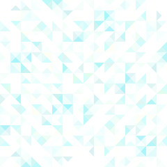blue crystal seamless pattern
