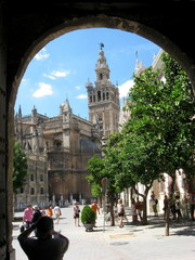 Seville Cathedral tower