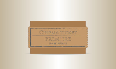 cinema premiere ticket