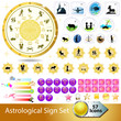 Astrological Sign Set - 57 Icons