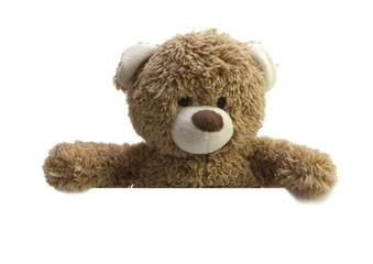ours en peluche annonce publicitaire