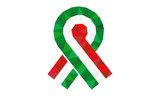 Hungarian Revolution of 1848, inverted tricolor cockade vector