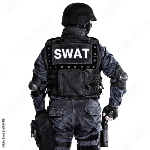 SWAT officer - 61894918