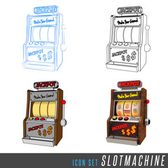 3D Iconset Slotmachine