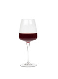 Great full glass of red wine