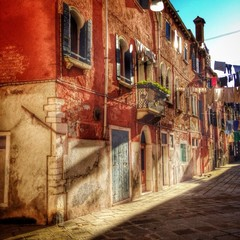 Venice, typical street