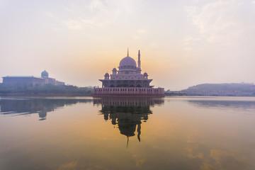 Putra Mosque,Putrajaya,Malaysia