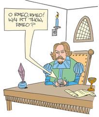 O Romeo, wherefore art thou Romeo