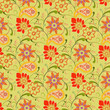 Flower Seamless Pattern - Illustration