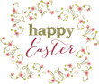 Easter festive background