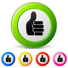 ok hand icons