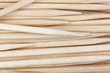 Group Wooden Toothpicks Up Close